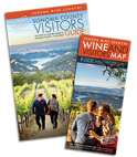 sonoma county visitors guide and wineries map 2018