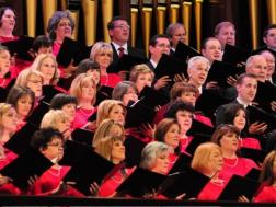 Mormon Tabernacle Choir at the Green Music Center in Rohnert Park, Sonoma County