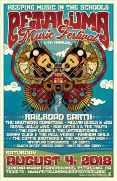 petaluma music festival sonoma county