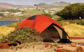 Beach Camping at Doran Regional Park in Sonoma County, California