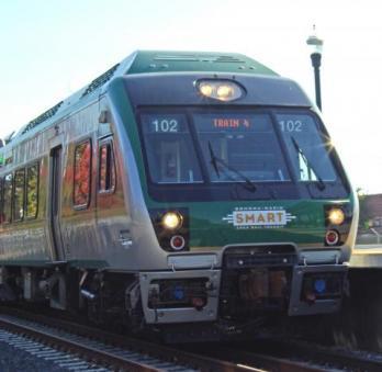 SMART train sonoma county