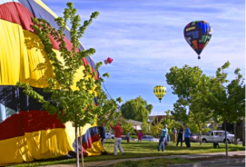 Sonoma County Hot Air Balloon Classic in Winsdor, California