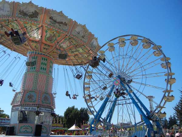 sonoma county fair rides carnival music concert