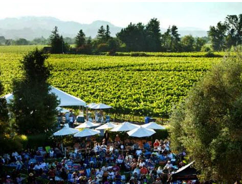 rodney strong vineyards winery sonoma county summer music concert series