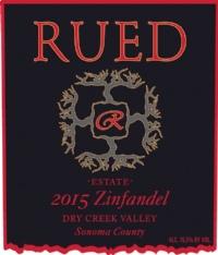 Rued Family Wines, Dry Creek Valley AVA, Sonoma County, California