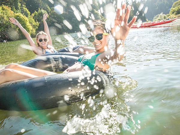 russian river tubing child family fun sonoma county