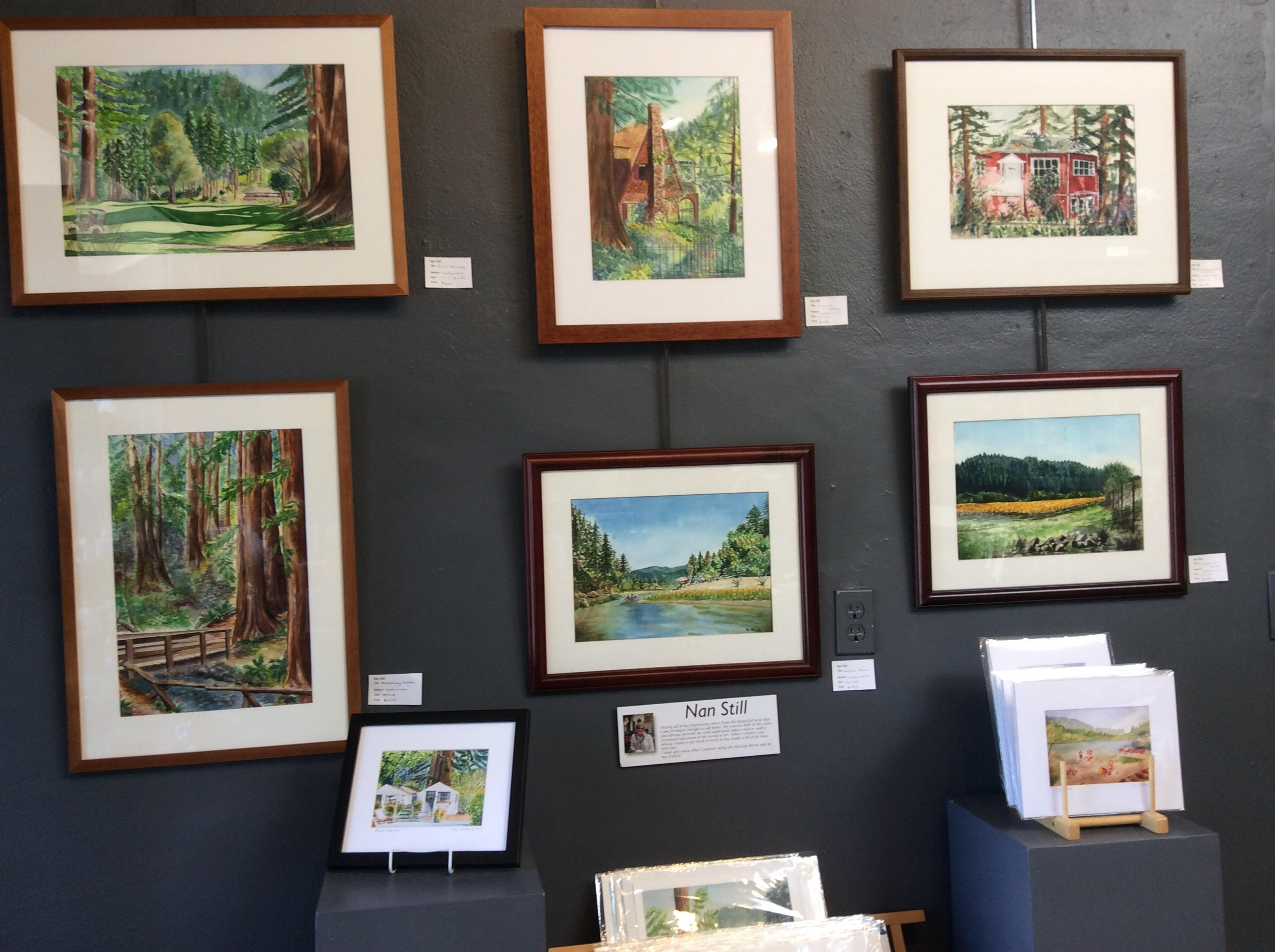 Russian River Art Gallery, Guerneville, California