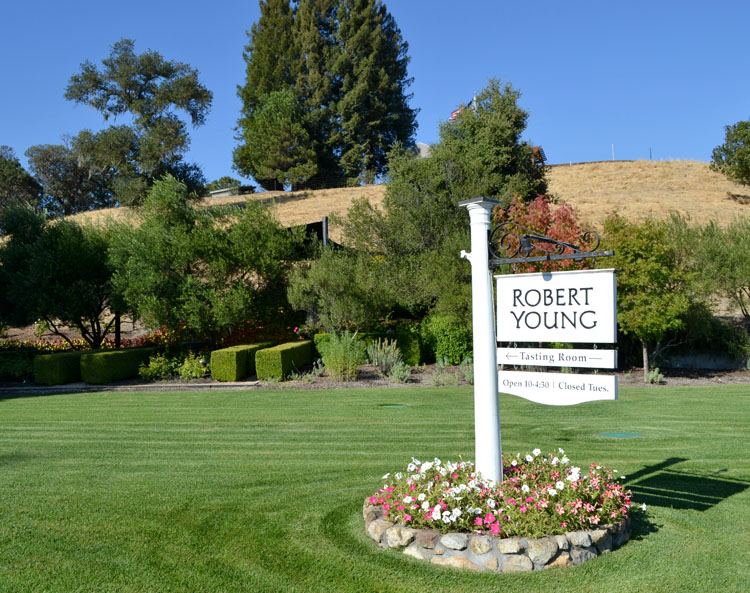 Robert Young Estate Winery, Geyserville, California