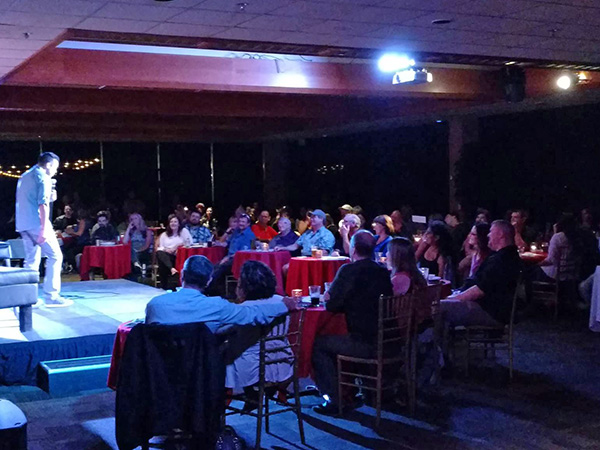 Comedy nights in Sonoma County, California