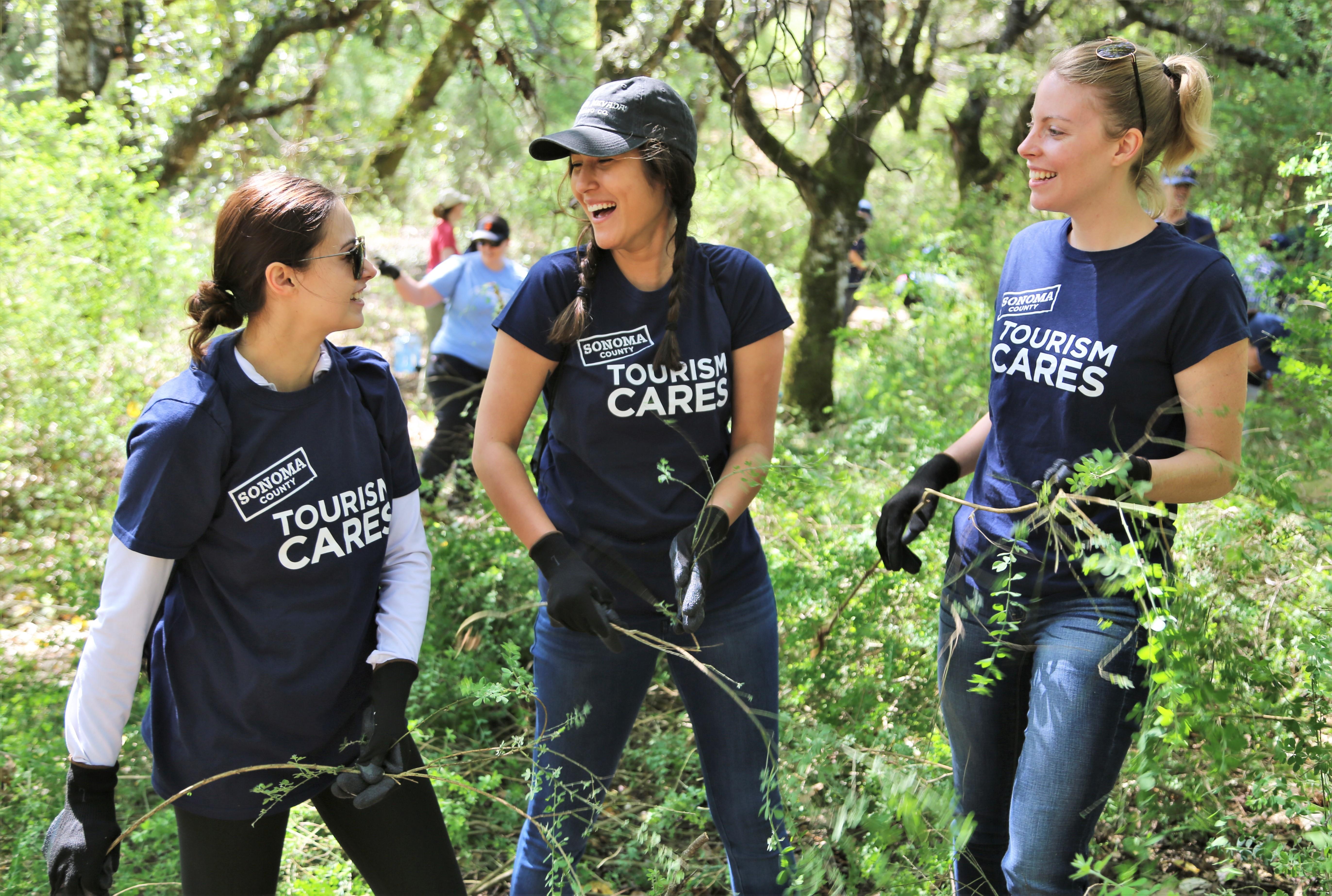 Tourism Cares, Sonoma County, California