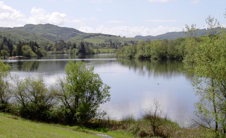 Spring Lake in Santa Rosa, Sonoma County, California