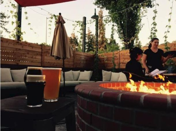 steel and hops public house dinner sonoma county restaurant beer