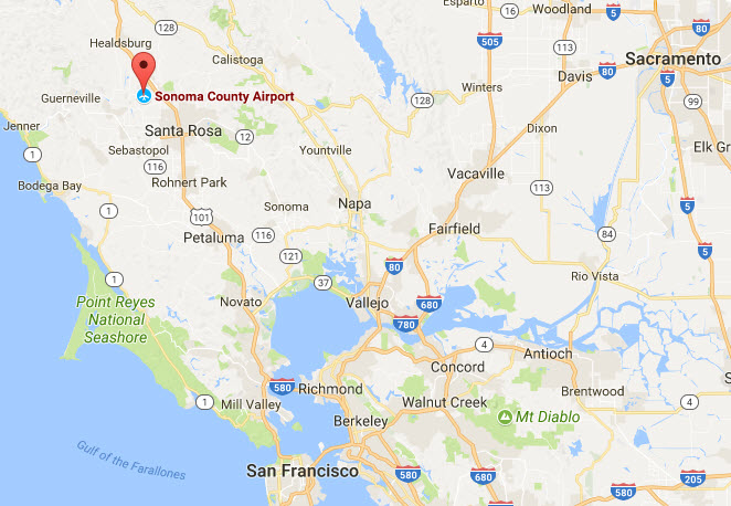 Guide To Sonoma County Airport STS In Santa Rosa Sonoma County - Airports in northern california