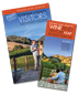 Sonoma County visitors guide and map