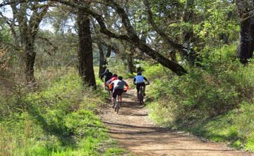 biking spring lake regional park