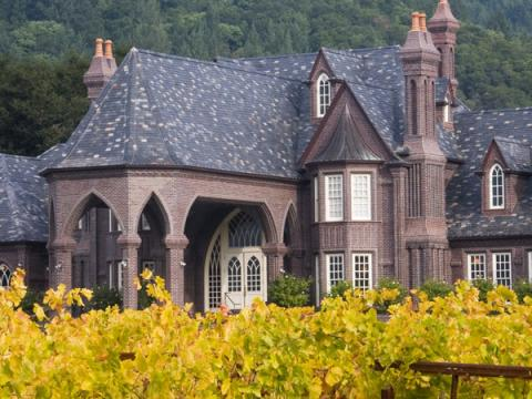 The Most Beautiful Wine Castles of Sonoma ledson winery and vineyards kenwood