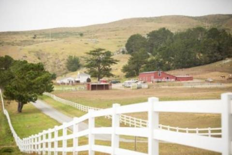 glamping in wine country chanslor ranch horseback riding sonoma county