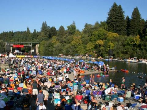 russian river music festivals at johnsons beach sonoma county