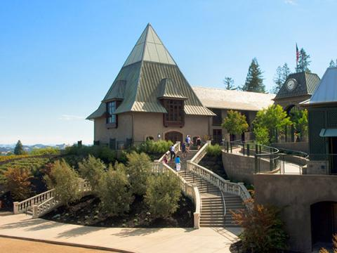 The Most Beautiful Wine Castles of Sonoma francis ford coppola winery geyserville