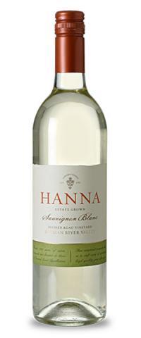 Hanna Winery Sauvignon Blanc Russian River Valley Sonoma County California