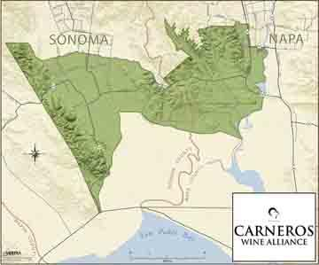 Carneros Sonoma Wine Region and Appellation   Sonoma County