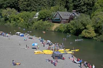 The rivers of sonoma county sonoma county official site for Russian river cabins guerneville