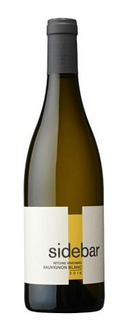 Sidebar Cellars Ritchie Vineyard Sauvignon Blanc Sonoma County