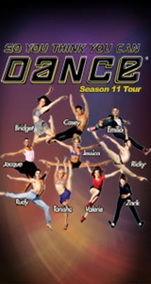 So You Think You Can Dance Tour Santa Rosa