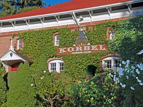 korbel champagne cellars sonoma county