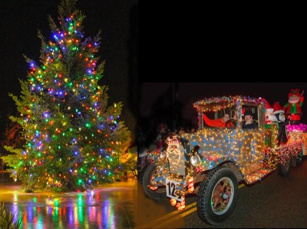 Geyserville Tree Lighting and Tractor Parade   Sonoma ...