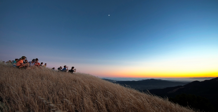 Sugarload Ridge State Park offers great sunsets in Sonoma County, California