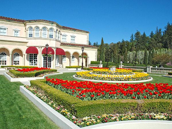 ferrari carano winery sonoma county gardens