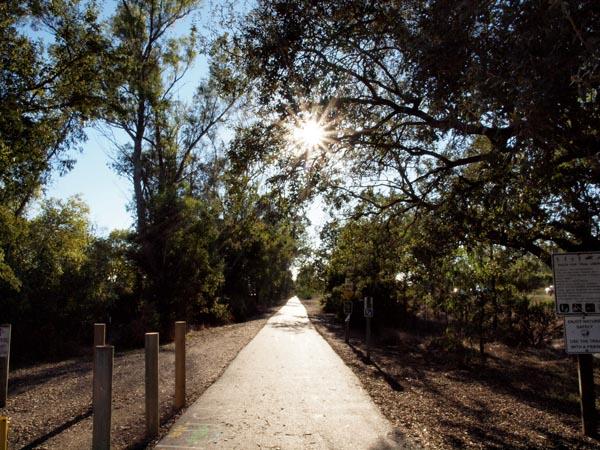 west county regional trail biking sonoma county