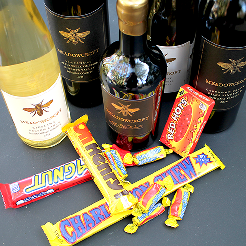 Candy and Wine Pairing at Meadowcroft Wines in Sonoma, Sonoma County, California