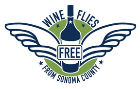 wine country flies free logo