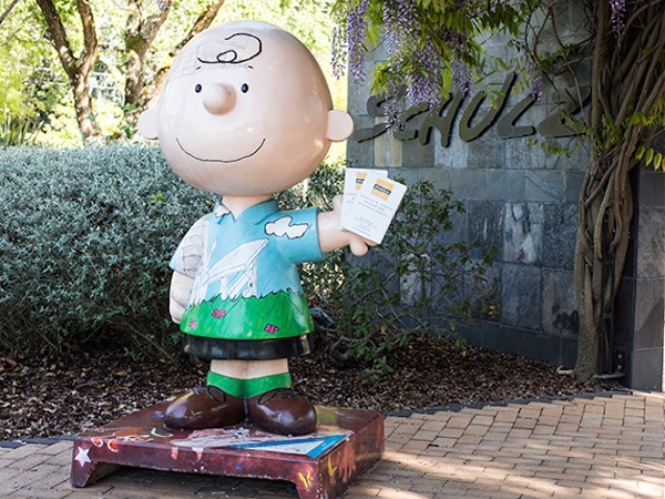 Father's Day at the Schulz Museum, Sonoma County, California