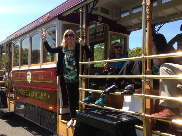 Wine Trolley, Sonoma County, California
