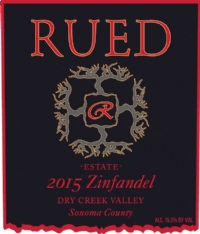 Rued Family Wines, Dry Creek Valley AVA, Sonoma County, California