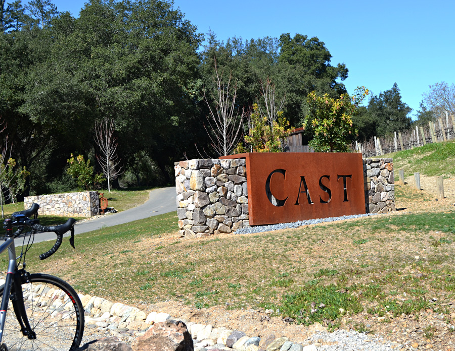 Cast Wines, Geyserville, Sonoma County, California