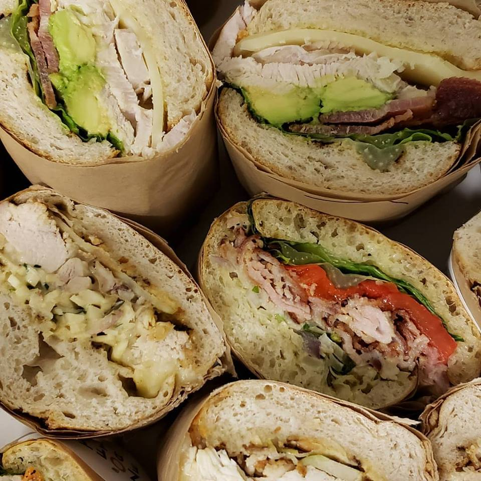Wraps at Zoftig Eatery in Santa Rosa, Sonoma County, California