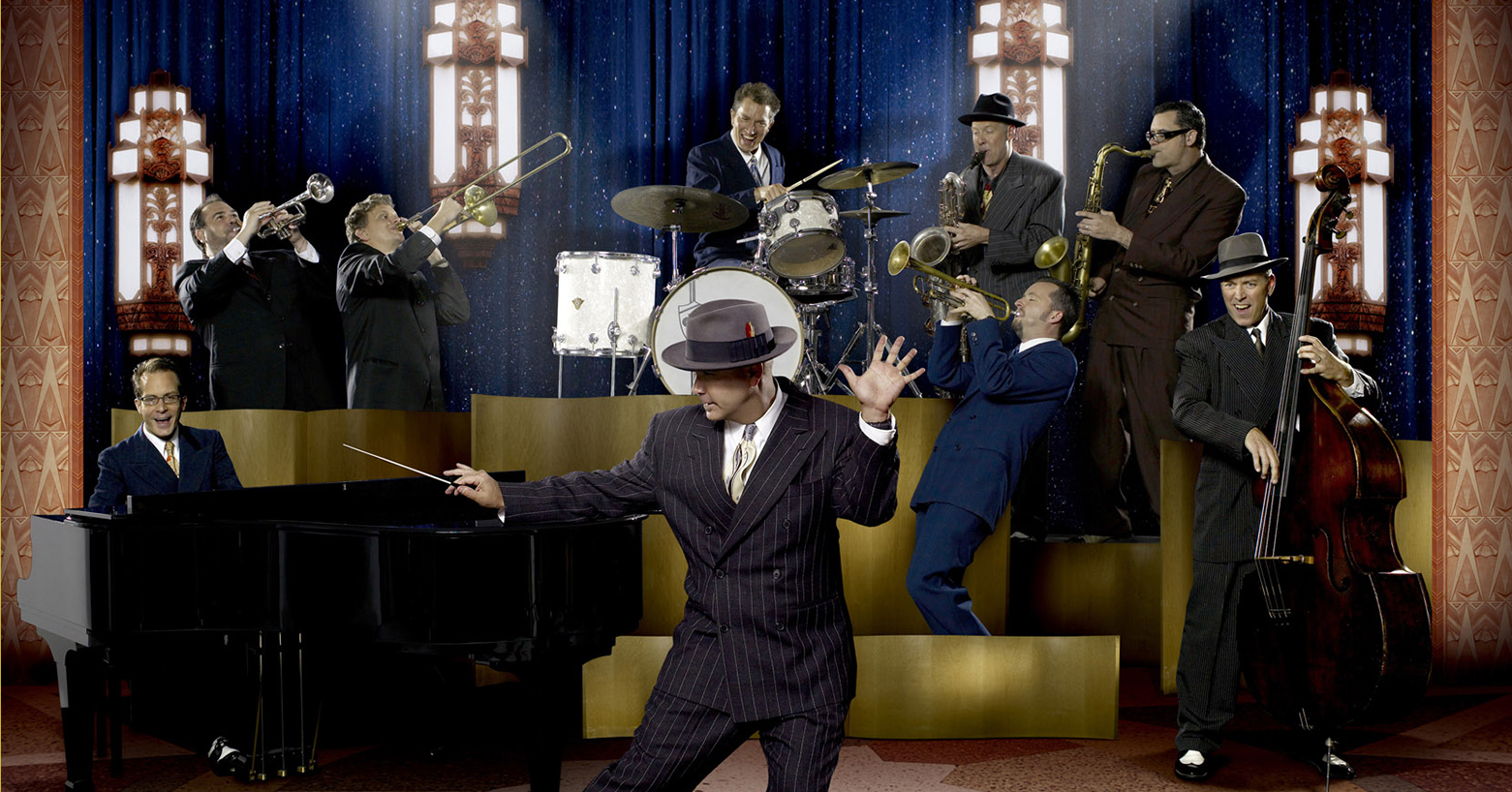 Big Bad Voodoo Daddy's Wild and Swingin' Holiday Party, Luther Burbank Center, Santa Rosa, California