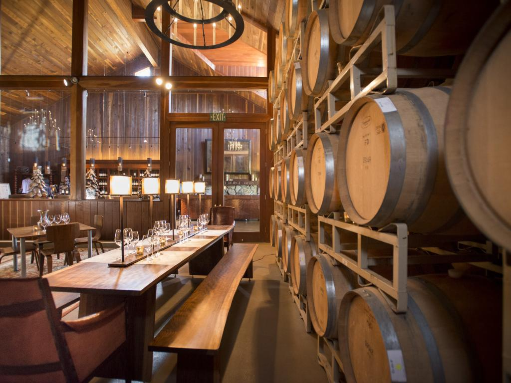 Lambert Bridge Winery, Healdsburg, California