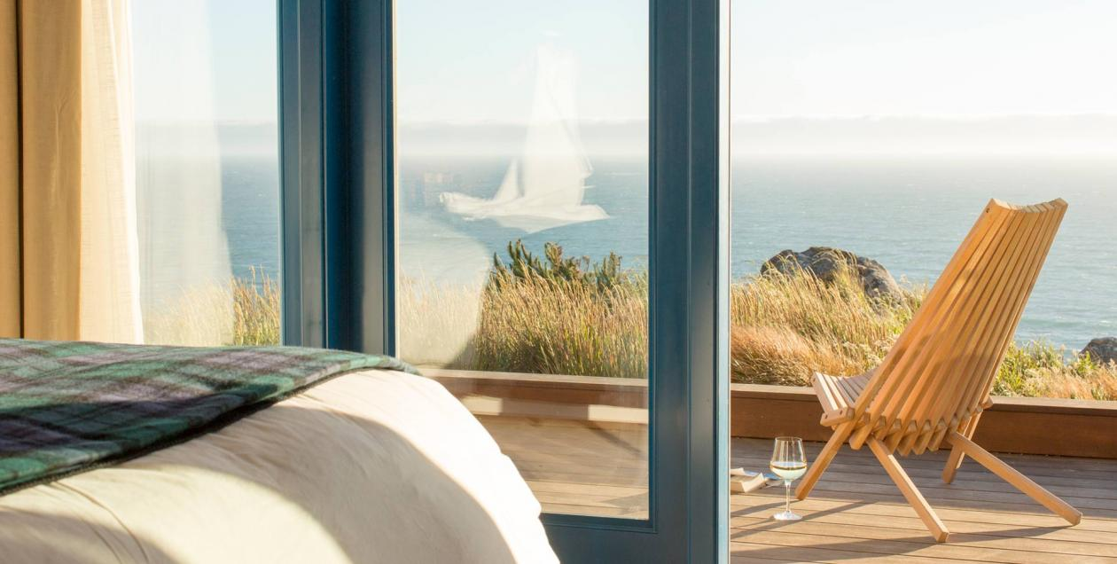 Stay at Timber Cover Resort, overlooking the glorious Sonoma County Coast