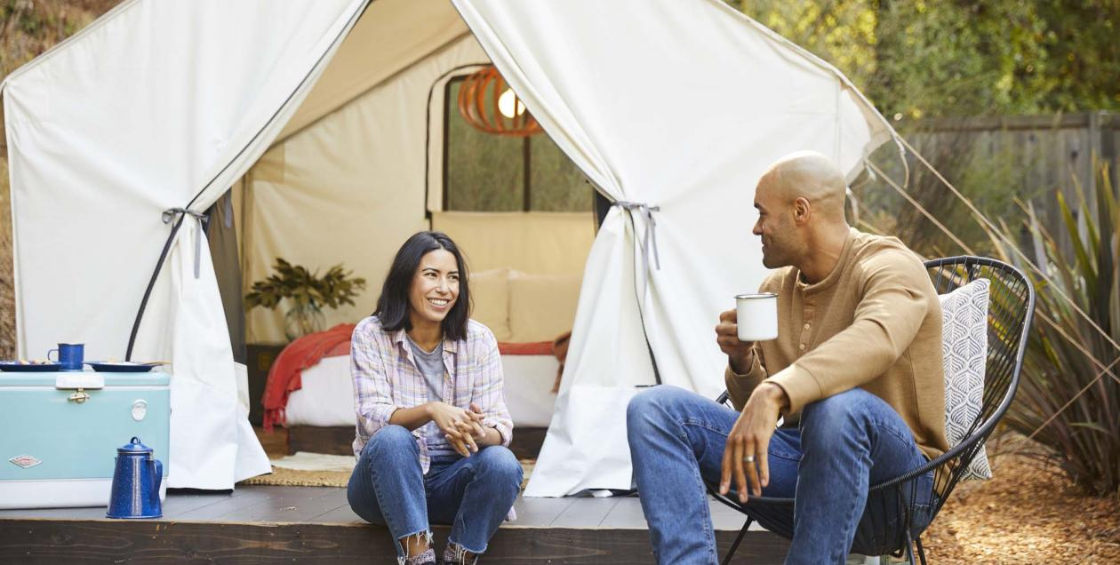 glamping in Sonoma County
