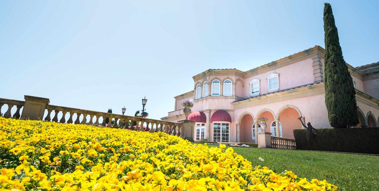 Ferrari-Carano Vineyards and Winery is an iconic winery to visit in Sonoma County's Dry Creek Valley