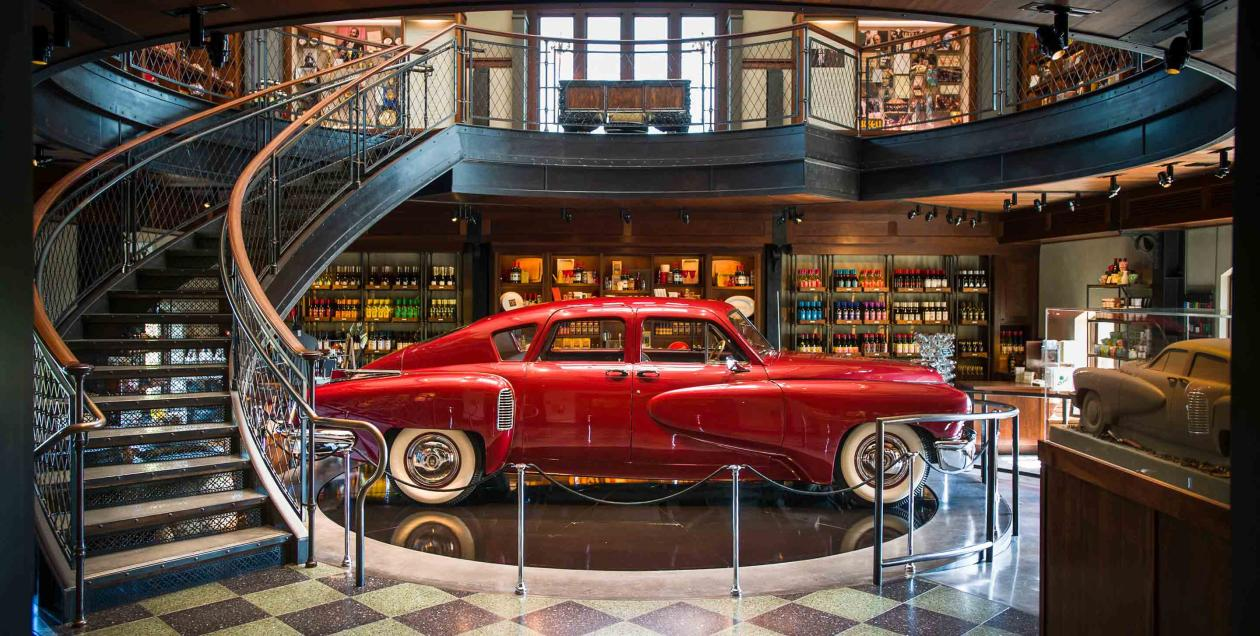 The museum of movie memorabilia at Francis Ford Coppola Winery, Sonoma County