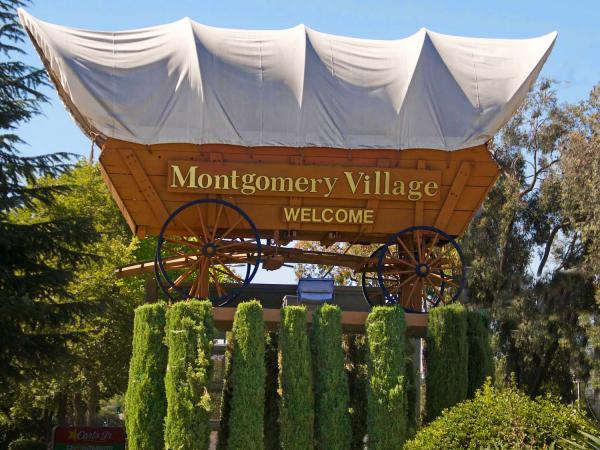 Montgomery Village sign