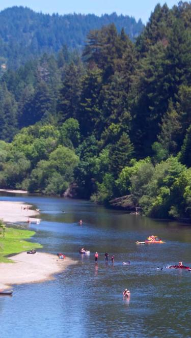 russian river in Sonoma County