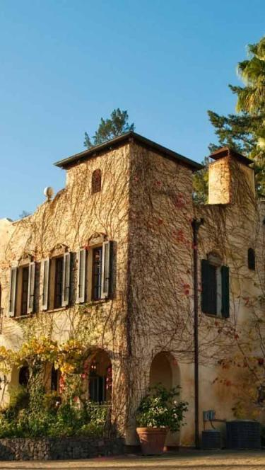 The exterior of the Kenwood Inn & Spa in Sonoma County