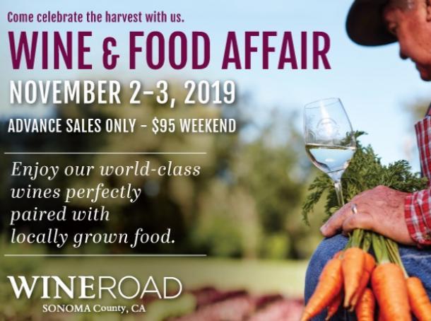 Wine and Food Affair | SonomaCounty com